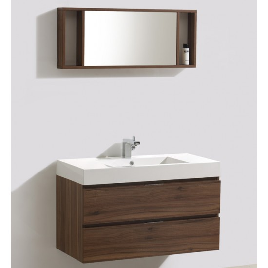 "Veneto Bath - 1000C - 39"" Bathroom Vanity Cabinet - Grey Oak"