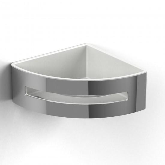 Riobel - Corner Basket - Chrome White