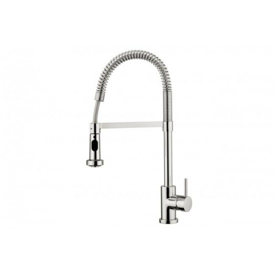 Aquabrass - Wizard Dual Stream Kitchen Faucet - Brushed Nickel