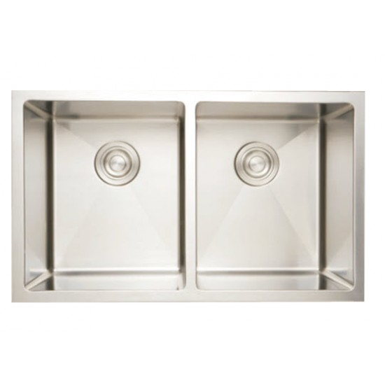 Bosco - Deluxe Series Undermount - Radius Corner Sink - 203319