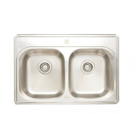 Bosco - Drop In Kitchen Sink with 1 Hole - T207001-1