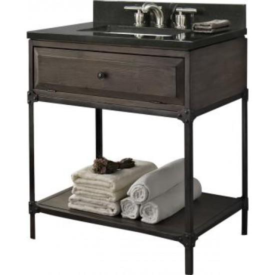 """Fairmont Designs - Toledo - 30"""" Open Shelf Bathroom Vanity"""
