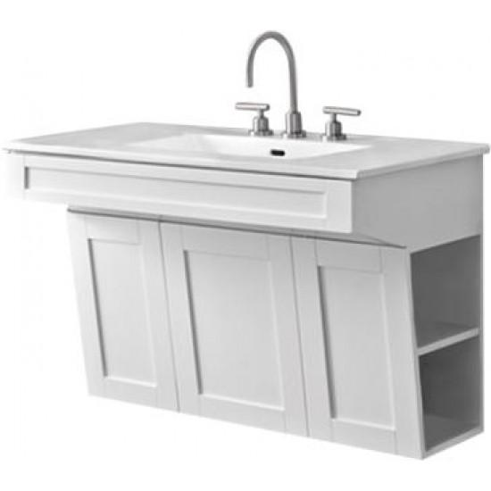 "Fairmont Designs - Shaker Americana - 36"" Bathroom Vanity - Polar White"