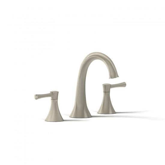 """Riobel - Edge - 8"""" Lavatory Faucet - Brushed Nickel"""