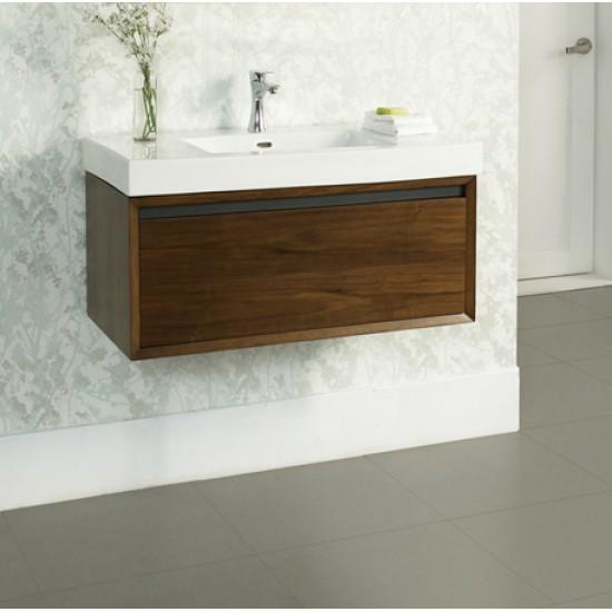 "Fairmont Designs - M4 - 36"" Bathroom Vanity - Natural Walnut"