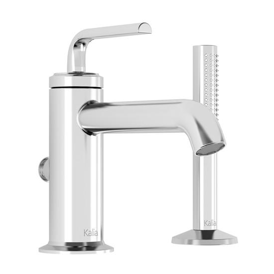 Kalia - CITÉ™ - 2-Piece Deckmount Tub Filler with Handshower - Chrome