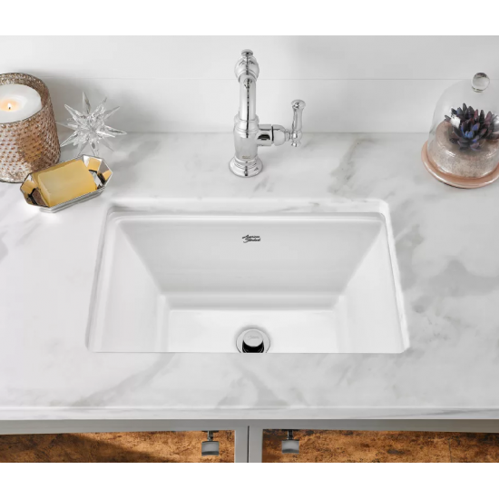 American Standard Bathroom Sinks | Standard Estate Rectangular Undercounter Bathroom Sink White
