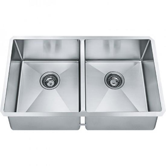 Franke - Techna - Stainless Steel Undermount Kitchen Sink - 31 \