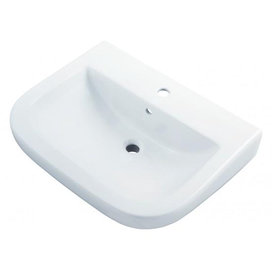 Gerber - Wicker Park -  Single Hole Wall Hung Bathroom Sink
