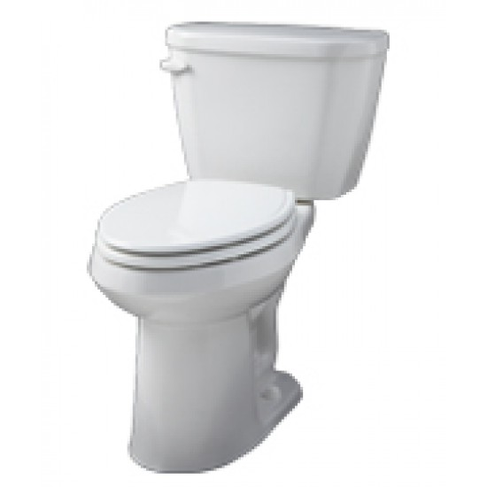 Gerber - Viper - ErgoHeight Elongated 2 pc 1.6gpf Toilet - White