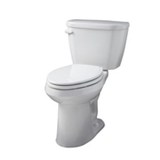 gerber viper ergoheight elongated 2 pc gpf toilet white. Black Bedroom Furniture Sets. Home Design Ideas
