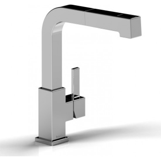 Riobel - Mizo - Kitchen Faucet with Spray - Stainless Steel