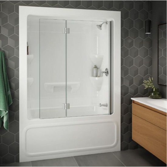 Longevity -  Renovation II - 3 - Piece Right Drain Tubshower - R2063W