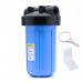 """Novo - Aqua Flo - Big Blue Whole Home Filter Housing - 10"""""""