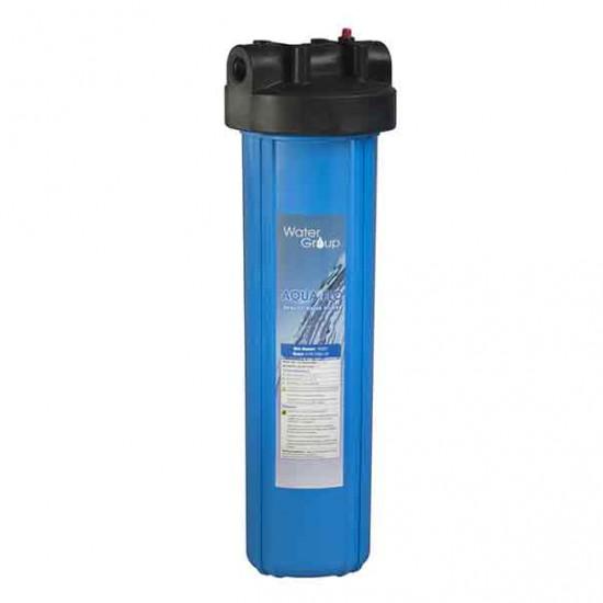 """Novo - Aqua Flo - Big Blue Whole Home Filter Housing - 20"""""""
