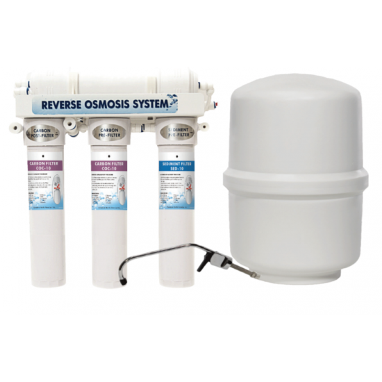 Novo - Aqua Flo 475 - Reverse Osmosis Drinking Water System - With Booster Pump