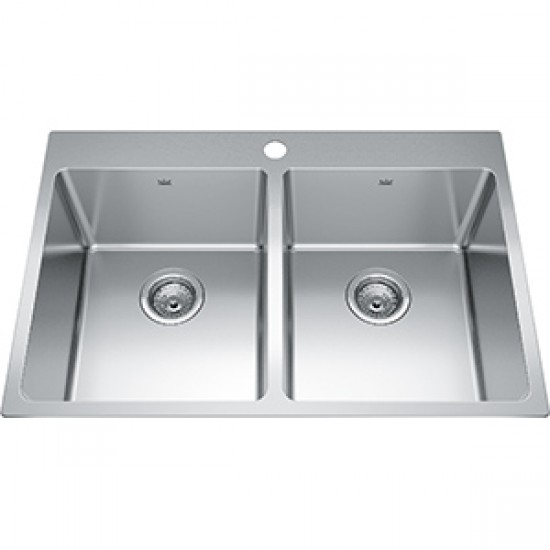 Kindred - Brookmore  Stainless Steel Kitchen Sink