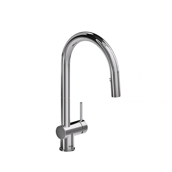 Riobel - Azure - Kitchen Faucet with Spray - Polished Chrome