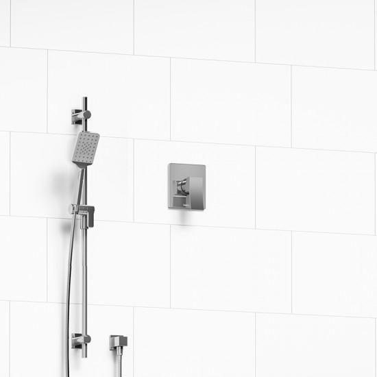 Riobel - Zendo -  Pressure Balance Shower Valve with Hand Shower - Polished Chrome