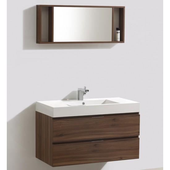 "Veneto Bath - 1000C-PW - 39"" Bathroom Vanity - Polar White"