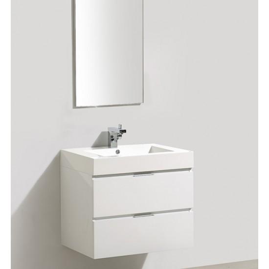 "Veneto Bath - 690C - 27"" Bathroom Vanity - Grey Oak"