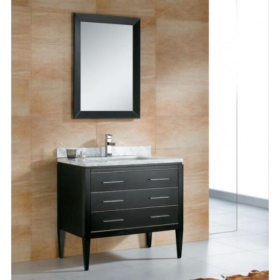 "Veneto Bath - MC 4001 - 30"" Bathroom Vanity - Espresso Black"