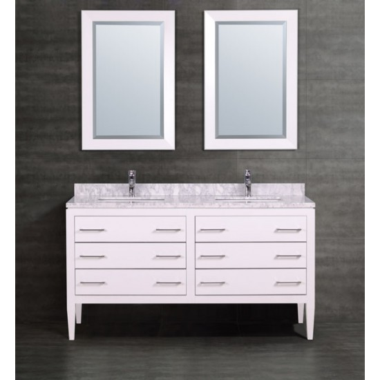 Tremendous Veneto Bath Mc 4002 60 60 Bathroom Vanity Double Sink Download Free Architecture Designs Barepgrimeyleaguecom