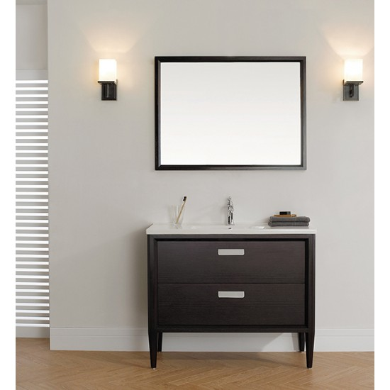 veneto bath mc 100 40 bathroom vanity brown oak rh plumbingwarehouse ca 40 bathroom vanity canada 40 bathroom vanity light