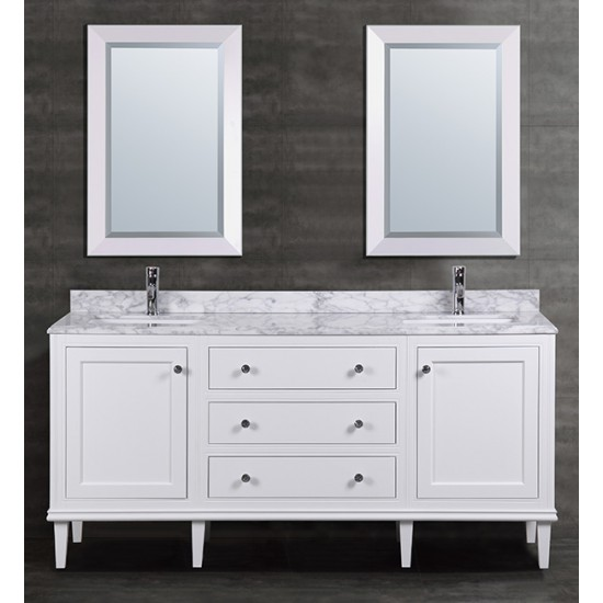 "Veneto Bath - MC 4005-72 - 72"" Bathroom Vanity - Double Sink"
