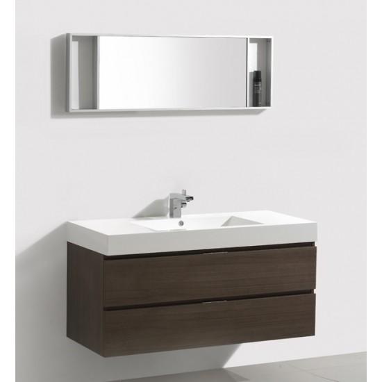 "Veneto Bath - MC 1200C - 47"" Bathroom Vanity - Grey Oak"