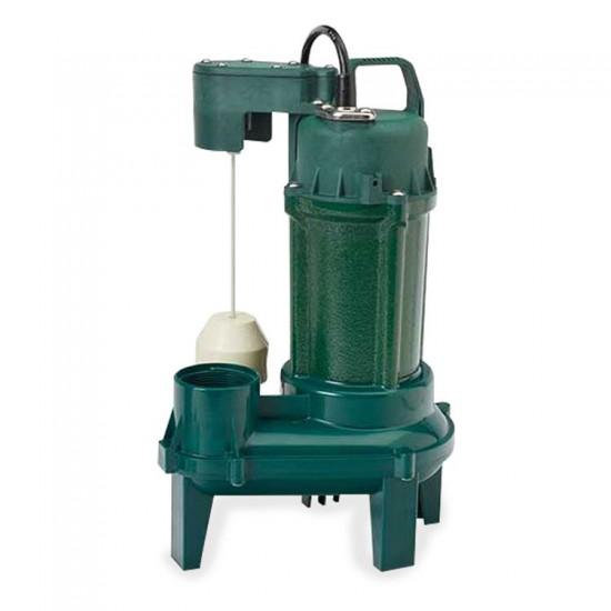 Zoeller -  Model 212 Sewage Pump - 1/2 HP