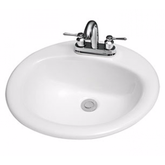 Cabalo - Oval Drop-in Sink - Single Hole