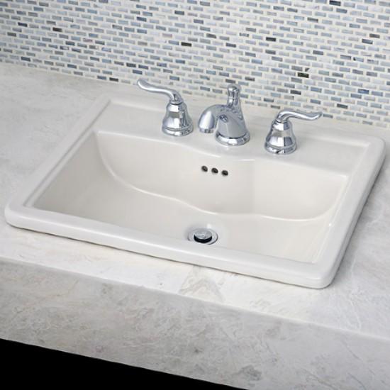 """American Standard - Laton Counter top Sink - 4""""cc - 22 5/8"""" x 17 3/4"""""""