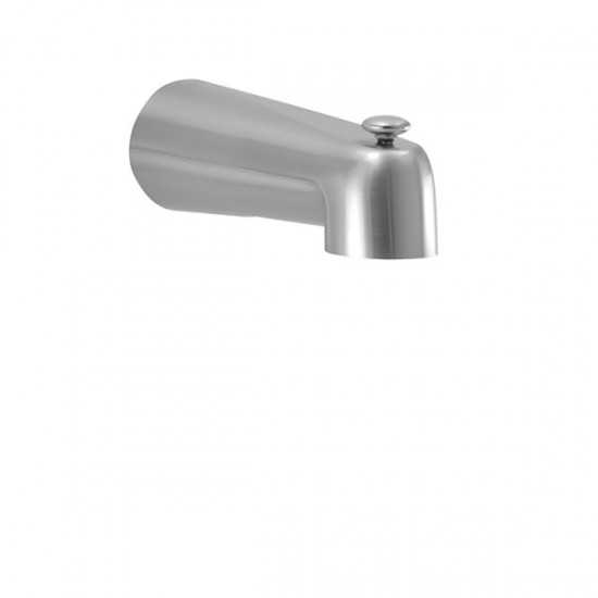 "Aquabrass -  7"" Wall Mount Tub Spout - 11812PC - Chrome"