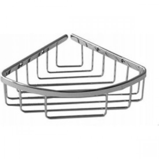 Aquabrass - Corner Basket - Polished Chrome