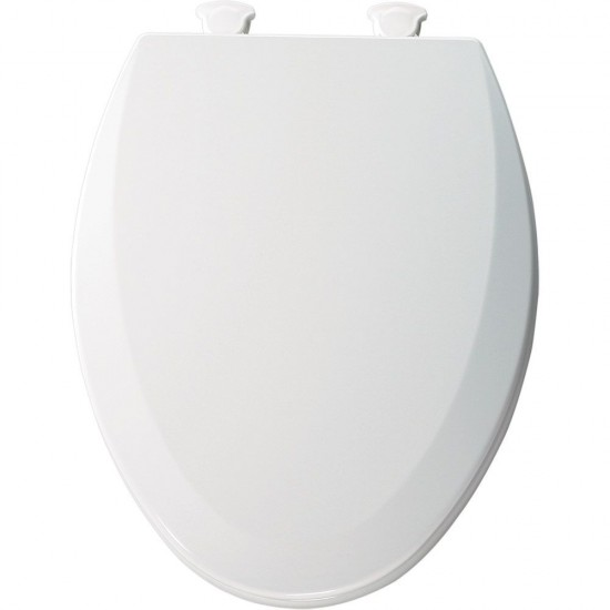 Amazing Bemis Elongated Molded Wood Toilet Seat With Easy Clean Hinge White Pabps2019 Chair Design Images Pabps2019Com